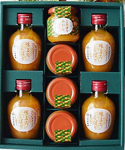 早和果樹園/ソウワカジュエン 味まろしぼりみかんジュースと果樹園の濃厚みかんジュレ