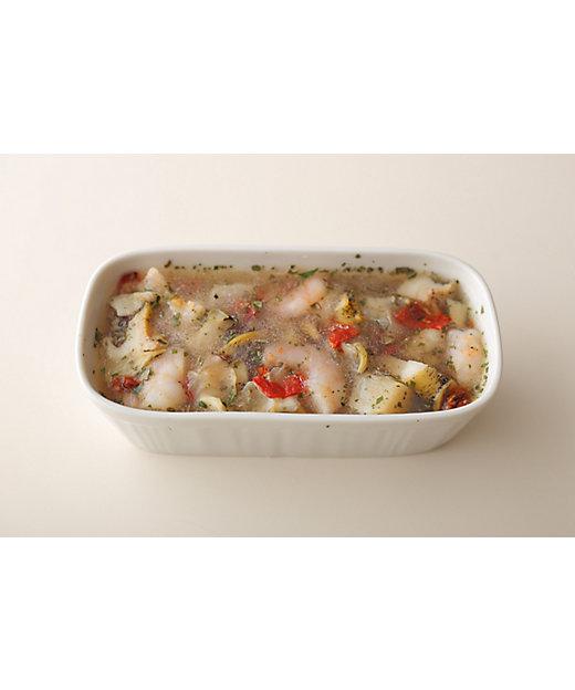 シーフードと香草のゼリー寄せ(冷凍)