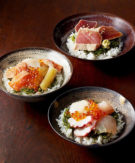 宮城【斉吉】海鮮丼詰合せ