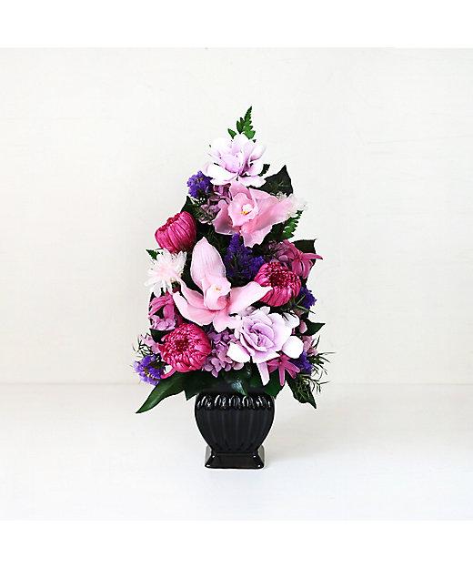 三越伊勢丹オンラインストア<Belles Fleurs Tokyo/ベル・フルール>【弔事・仏事】スカラ ピンク×パープル【三越伊勢丹/公式】