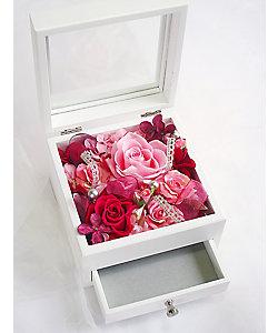 Belles Fleurs Tokyo/ベル・フルール ジュエリーボックス<スプレッド> ピンク