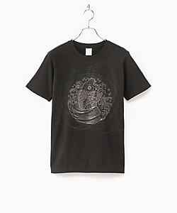 京源/キョウゲン Tシャツ 紋曼荼羅鯉水  メンズ・レディス各種