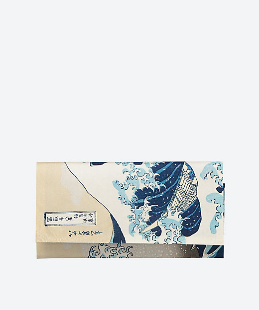 伝統手摺り江戸木版画 浮世絵マスク入れ「神奈川沖浪裏」 | 三越伊勢丹 ...