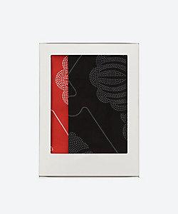京源/キョウゲン 家紋手拭い 黒・赤