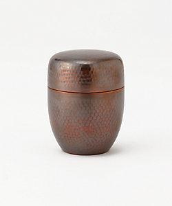 長澤製作所/ナガサワセイサクジョ 銅製茶筒 棗型