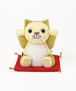 柿沼人形/カキヌマニンギョウ 招きライオン 仔