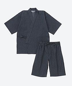 刺子ストライプ甚平