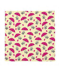 ムーミン風呂敷 ミイと傘