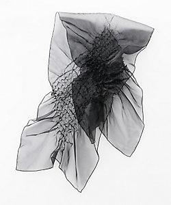 KIZOME/キゾメ a.unスカーフ ブラック