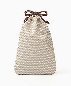 合切袋網代白