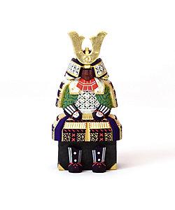 神泉/シンセン 奈良一刀彫 神泉作 具足 4号