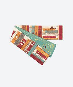 WA・KKA/ワッカ 半巾帯 猫の古本屋