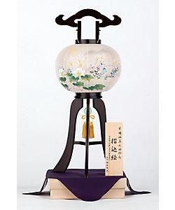 盆提灯・行灯/ボンチョウチン・アンドン 【三越カタログNo.24】小型行灯 鳳琳 二重張