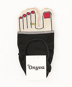 Onyva/オニヴァ 足指足袋型カバーソックス