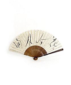 アトリエ・Kinami/アトリエキナミ 小熊廣美 誦月吟花扇子 7寸