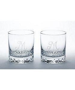 MEISSENER BLEIKRISTALL/マイセンクリスタル ペアオールドファッション「M」