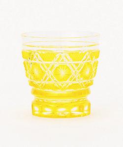 焼酎オンザロックグラス 黄
