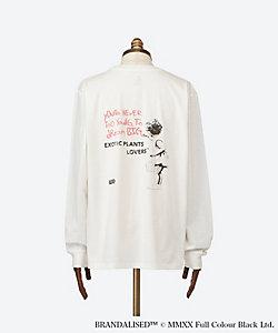 BOTANIZE/ボタナイズ <BRANDALISED×BOTANIZE>BANKSY ART Long T-shirt DREAM BIG ホワイト