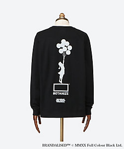 BOTANIZE/ボタナイズ <BRANDALISED×BOTANIZE>BANKSY ART Long T-shirt JERUSALEM BALLOON GIRL