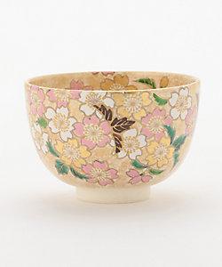 [加藤ひろこ] 茶碗 金砂子 桜
