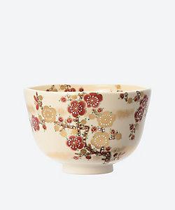 茶道具/サドウグ <福本未来>茶碗 色絵 梅