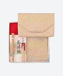 茶道具/サドウグ オリジナルお稽古セット 菱華文(女性用)
