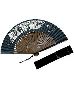 白竹堂/ハクチクドウ 紳士扇子 切絵京扇子セット
