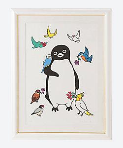 坂崎千春 アート/サカザキチハル アート ペンギン花鳥園