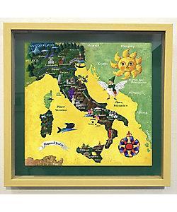 小澤 摩純/オザワ マスミ イタリアの地図