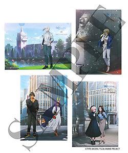 劇場版Fate/Grand Order -神聖円卓領域キャメロット-/ゲキジョウバンフェイト/グランドオーダー シンセイエンタクリョウイキキャメロット コラボレーションイラスト クリアファイル4枚セット