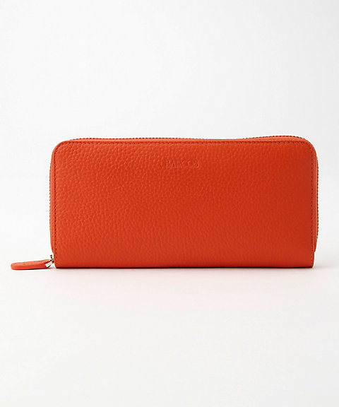 b206d9876cd9 <BARCOS/バルコス> GOOD LUCK WALLET ラウンド型財布<ソフィー> オレンジ 【三越・伊勢丹/公式】