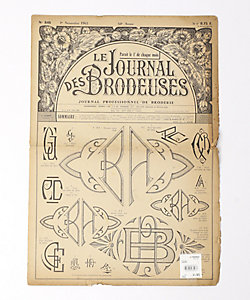 """CARBOOTS(VINTAGE)(Women)/カーブーツ(ヴィンテージ) 1965's フランス 刺繍新聞 """"Le Journal Brodeuses"""""""