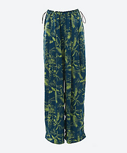FERN PRINT WIDE PANTS