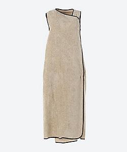 EARIH/アーリ VELET PIPING DRESS