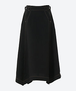 EARIH/アーリ OXFORD MIDDLE SKIRT