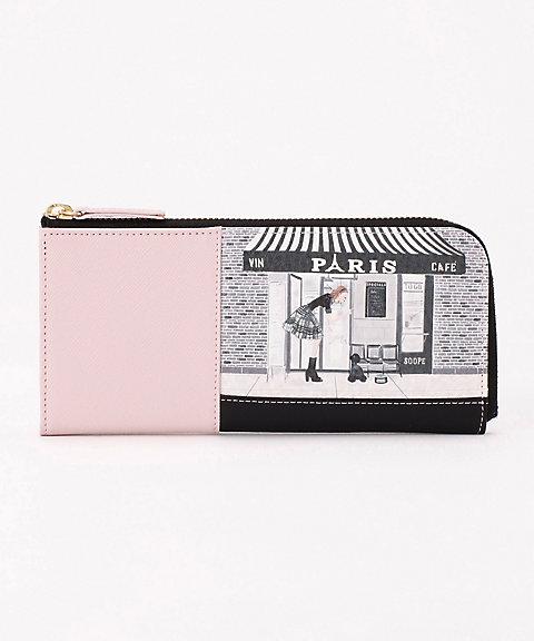 c101943a5d38 <Reiko Aoki/レイコアオキ> L字型長財布(8542) 115Cafe Paris 【三越・伊勢丹/公式】