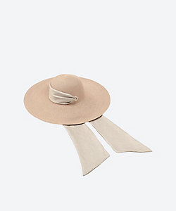 EUGINIA KIM/ユージニア キム ハット Bunny Ribbon Hat