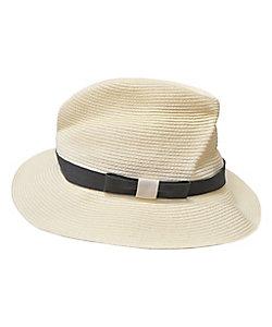 mature ha./マチュアーハ 帽子 BOXED HAT 7cm ブリム プレーンテープ