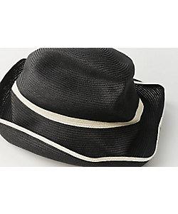 mature ha./マチュアーハ 帽子 BOXED HAT 11cm ブリム スイッチ カラーライン