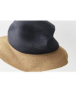mature ha./マチュアーハ 帽子 BOXED HAT 6.5cmブリム 2トーンカラー