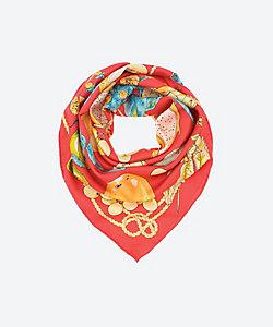manipuri(Women)/マニプリ フルーツバスケット88幅スカーフ