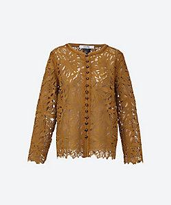 L'UNE(Women)/リュンヌ ジャケット Lace cardigan jacket