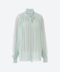 L'UNE(Women)/リュンヌ ブラウス pleated blouse