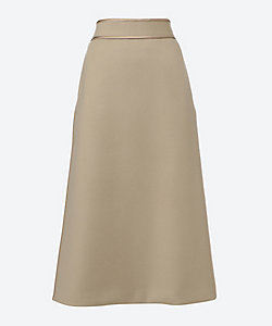 Scye(Women)/サイ ウール&カシミヤメルトンハイライズロングスカート