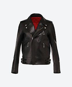 Scye/サイ lamb skin leather D.B biker jacket