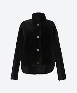 Scye/サイ shearling short coat