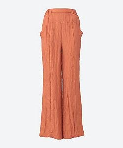 muller of yoshiokubo(Women)/ミュラーオブヨシオクボ Luster straight pants