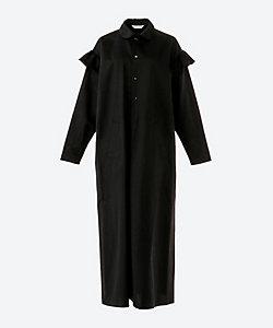 HOLIDAY(Women)/ホリデイ BLACK RUFFLE DRESS