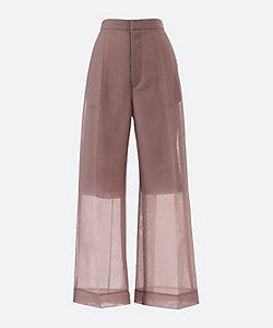 PHEENY(Women)/フィーニー Seer double knit wide slacks