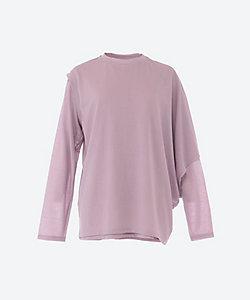PHEENY(Women)/フィーニー Cotton nylon seer layered tee